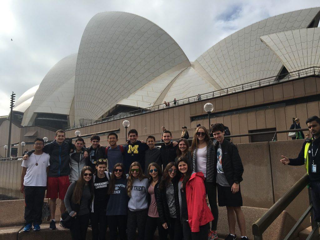 Backpack New Zealand and Australia