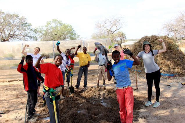 South Africa Teen Volunteer Program