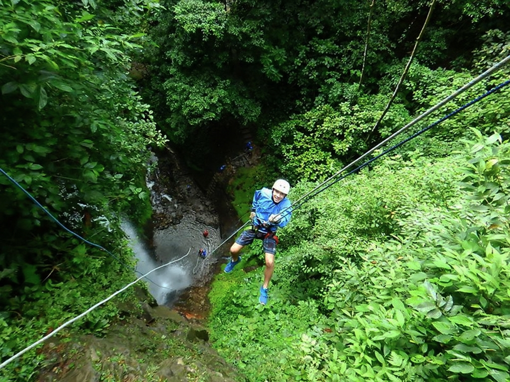 adventure travel - canyoning