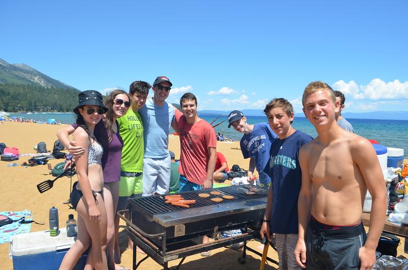 Adventurer at Lake Tahoe BBQ