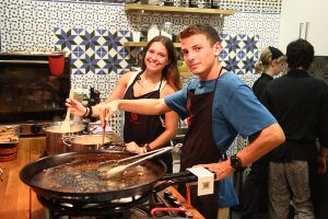 Spain Language in Cooking Class