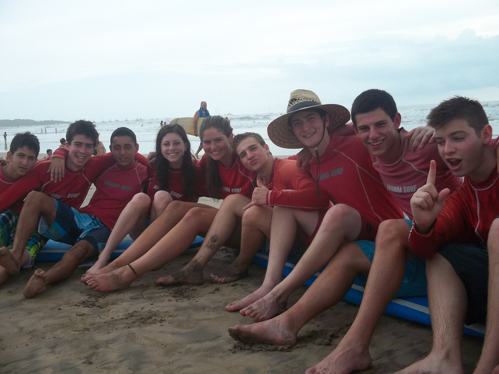 Surfing in Tamarindo!