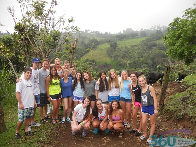 Grou-Community Service Teen Tour