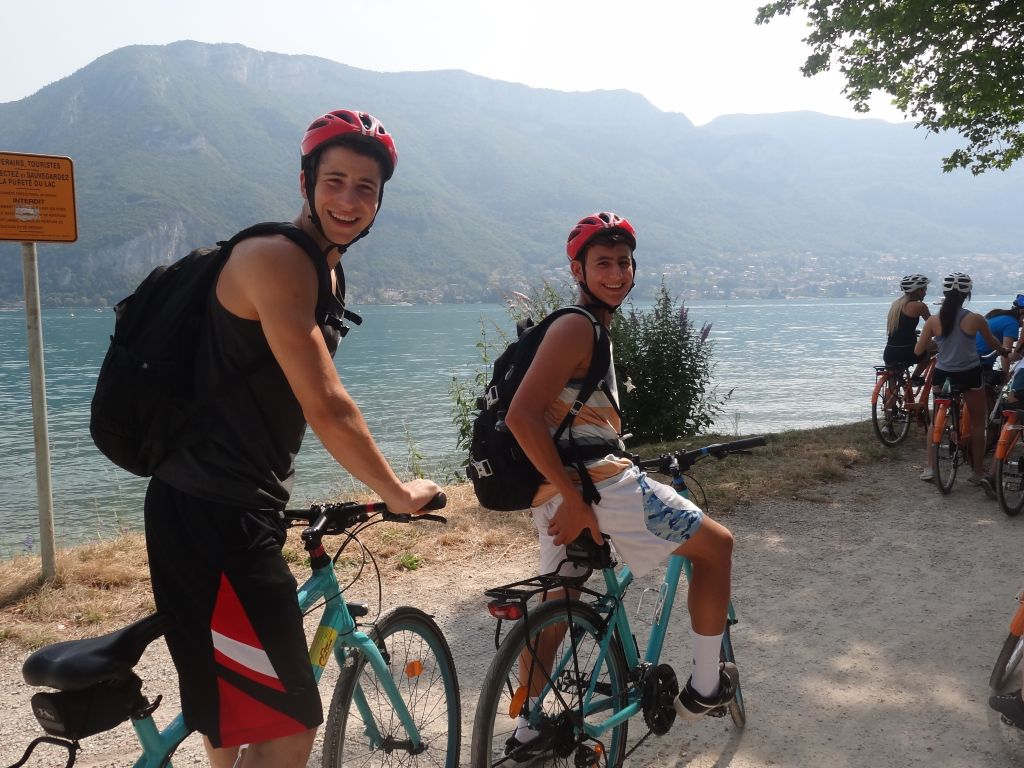 Biking in Annecy