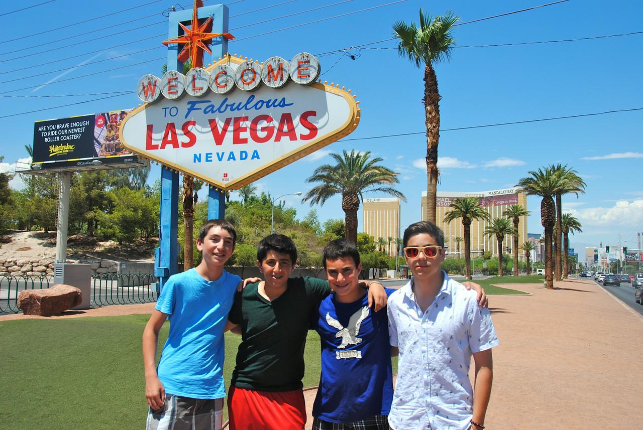 Adventurer in Las Vegas