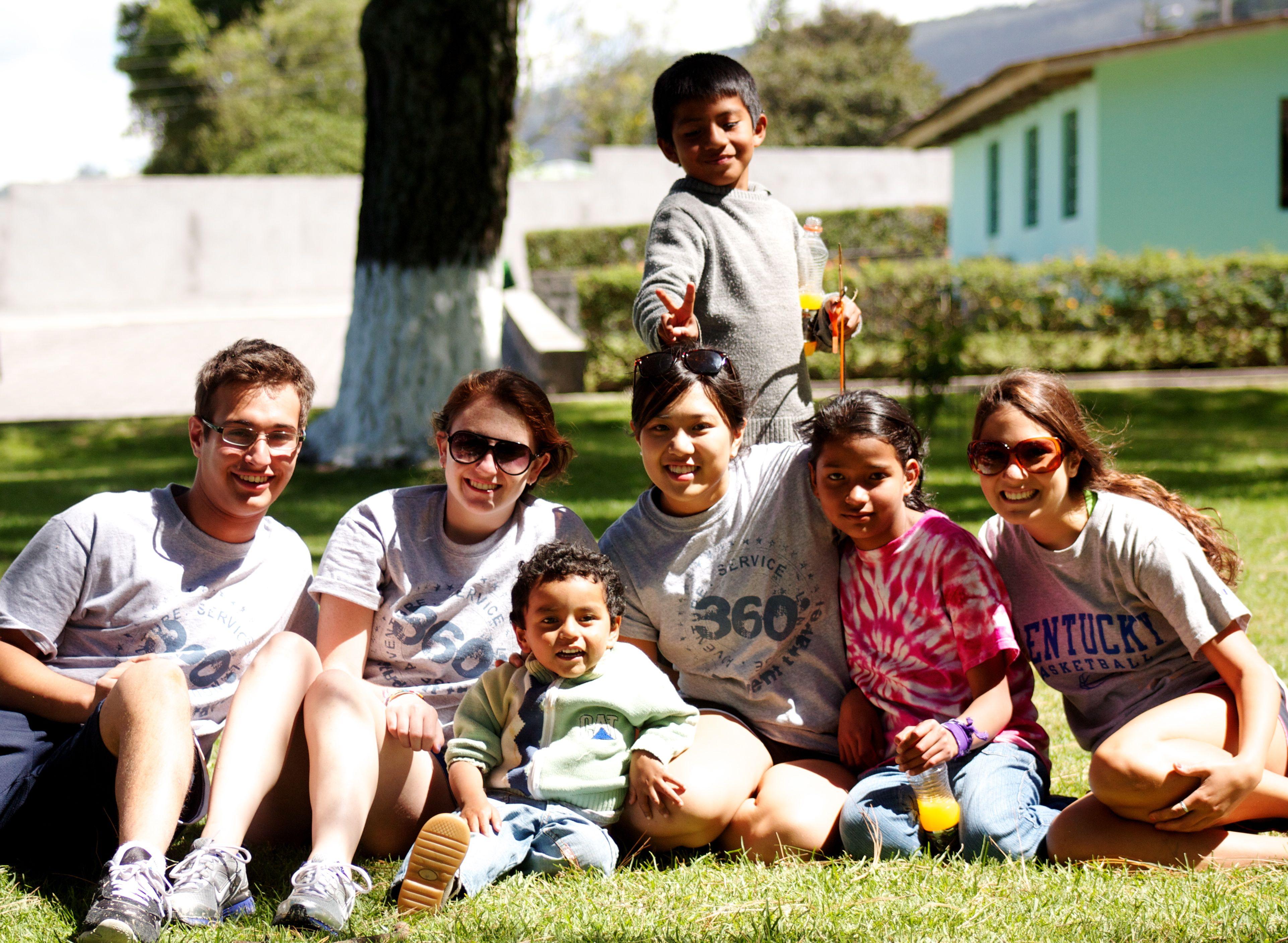 Group in Ecuador and the Galapagos