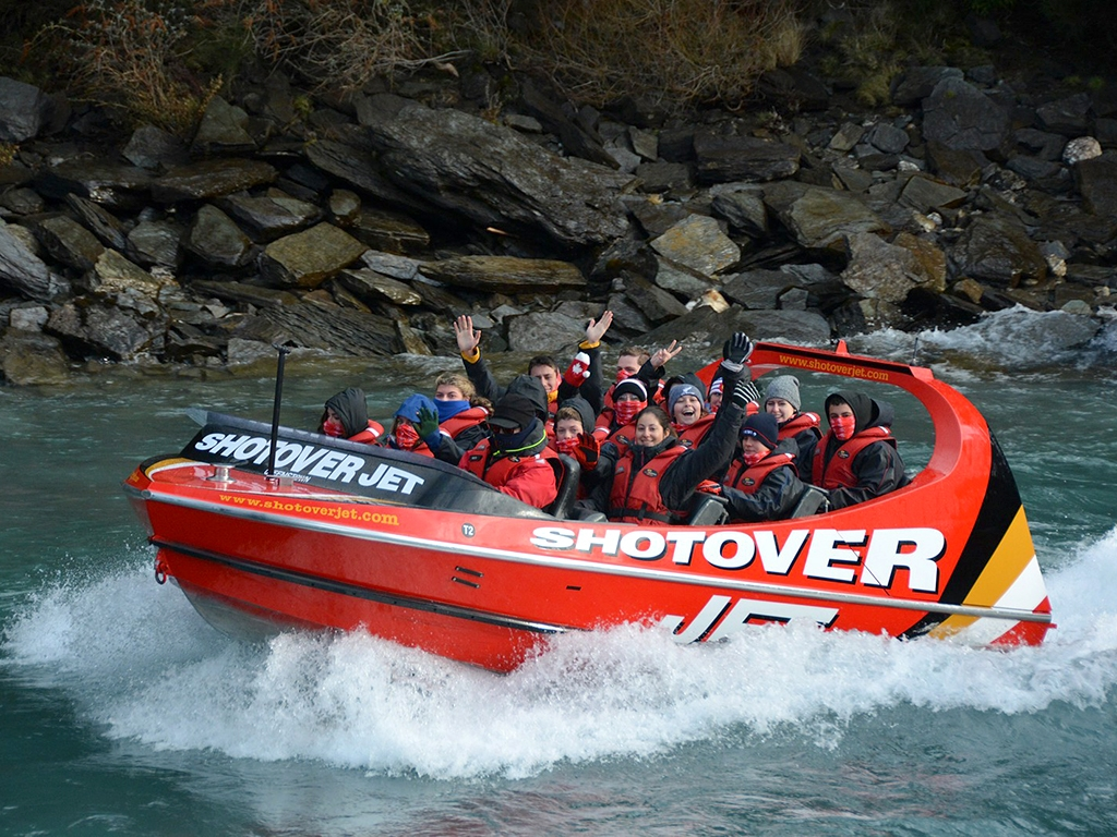 adventure travel - jet boating