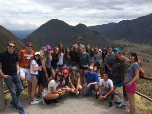 Ecuador Community Service at Pululahua Volcano