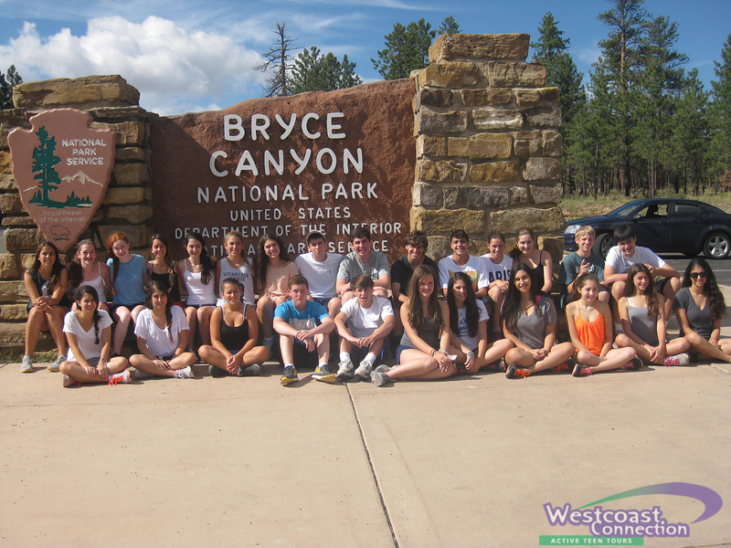 California and the Canyons in Bryce