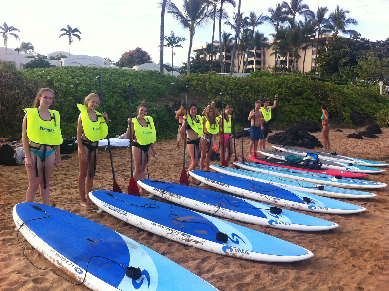 Hawaii Community Service Surfing the Waves