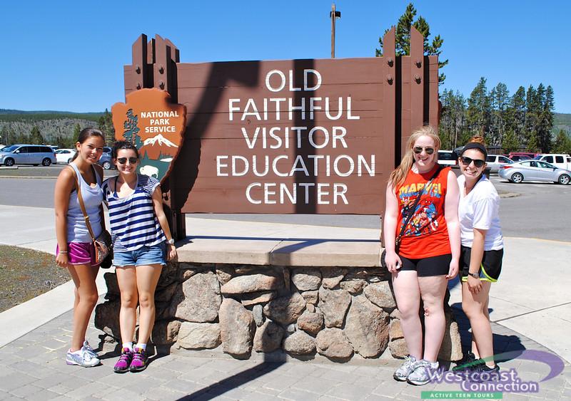 California Extravaganza at Old Faithful