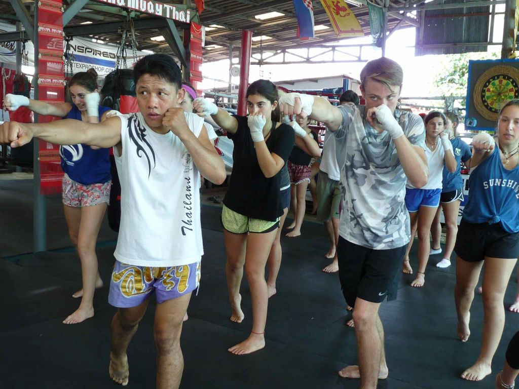 Muay Thai in Chang Mai