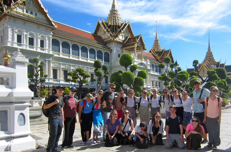 Thailand Community Service at the Royal Palace