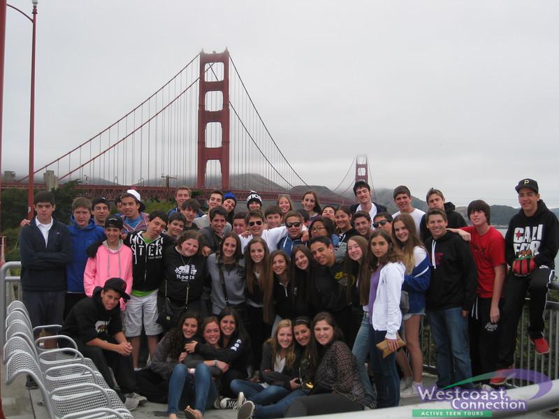 American Voyageur at the Golden Gate Bridge