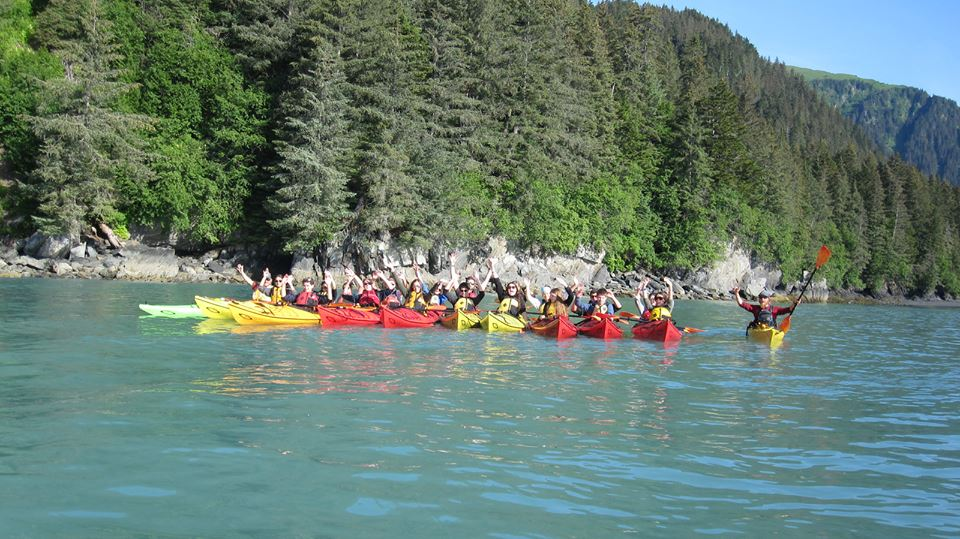 Alaska/Hawaii Community Service - Kayaking