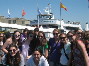 Boat to Alcatraz