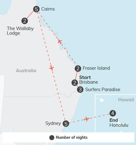 Australia plus Hawaii - 27 days 9