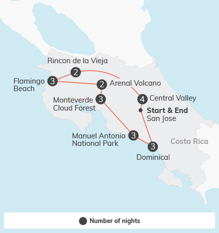 Costa Rica Adventure - 21 days 7