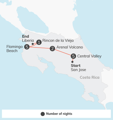 Costa Rica Language & Service Combination - 14 days 1