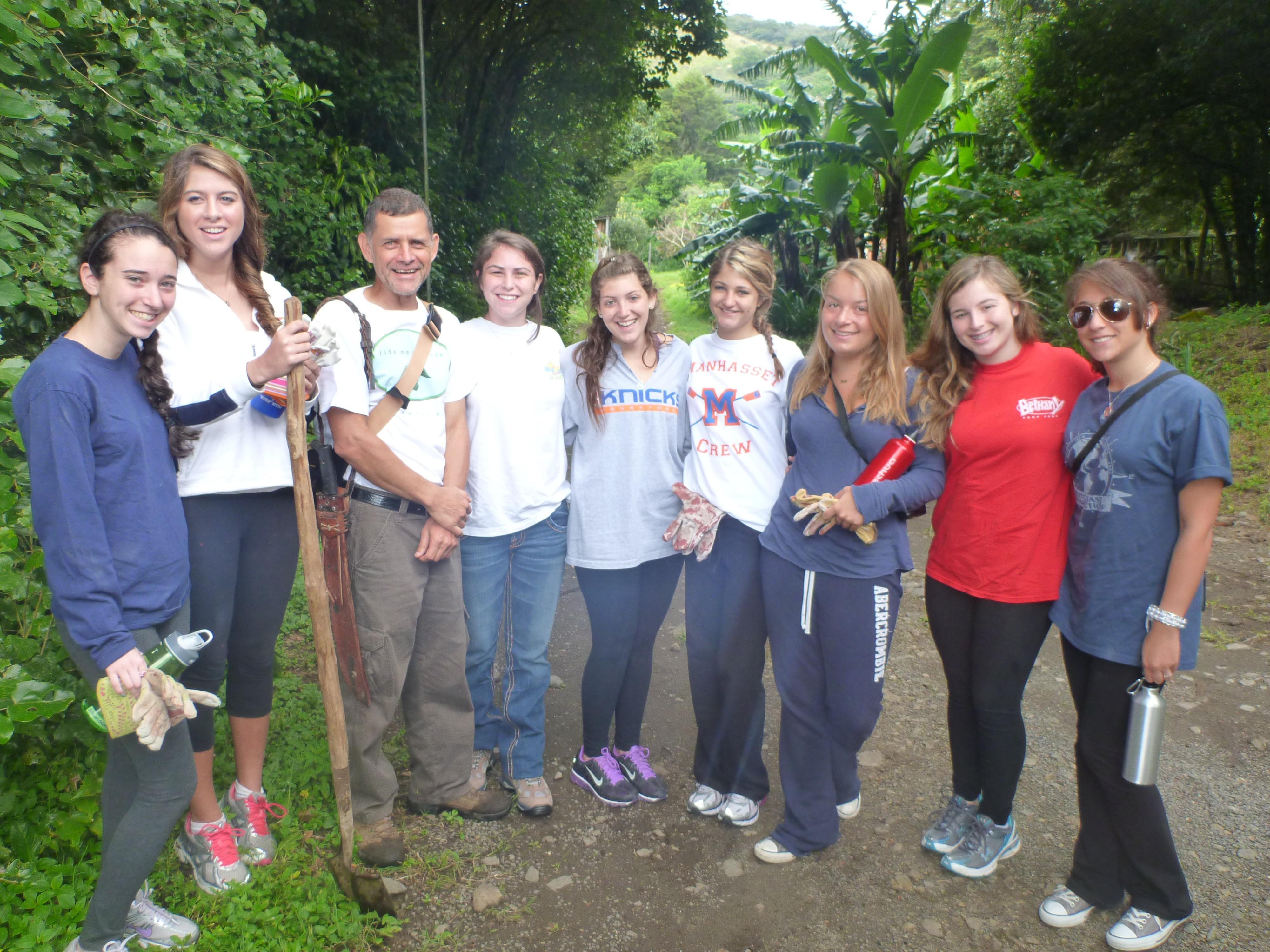 Costa Rica Community Service Teen Tour