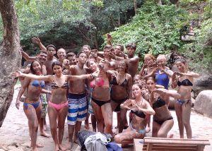 Costa Rica Community Service at the Mud Baths