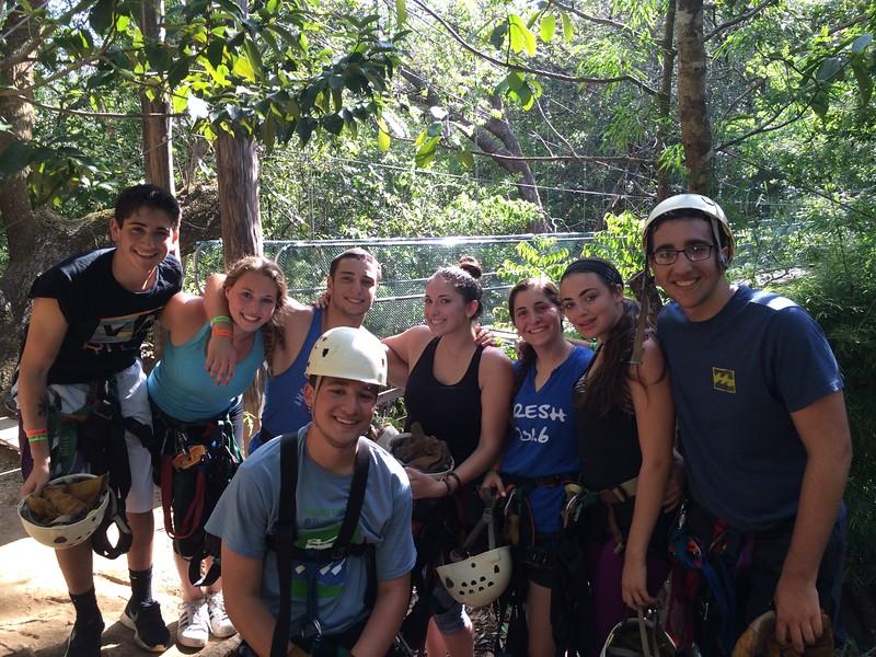 Costa Rica Community Service Ziplining