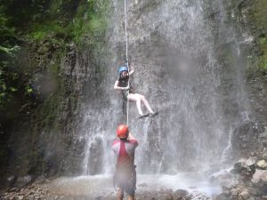 Costa Rica Community Service Canyoning