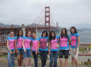 San Fran Cisco and the Golden Gate Bridge