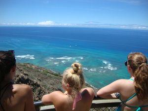 Hawaii Community Service at Diamond Head Crater