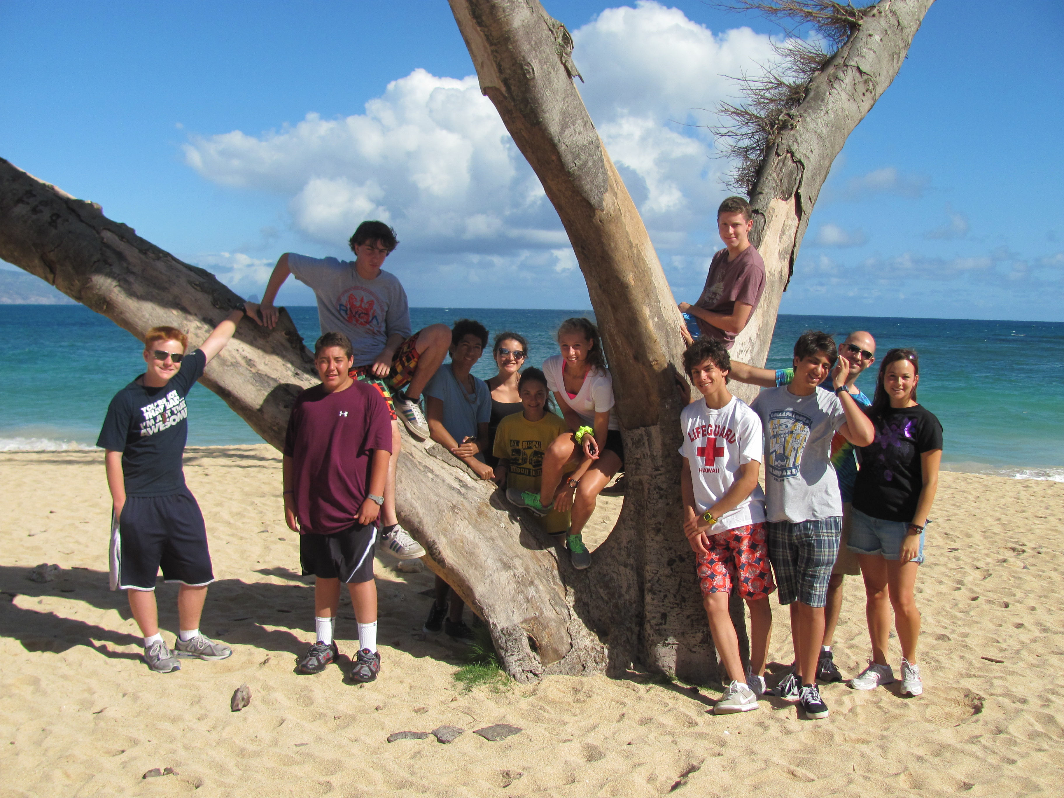 Hawaii Community Service at the Beach