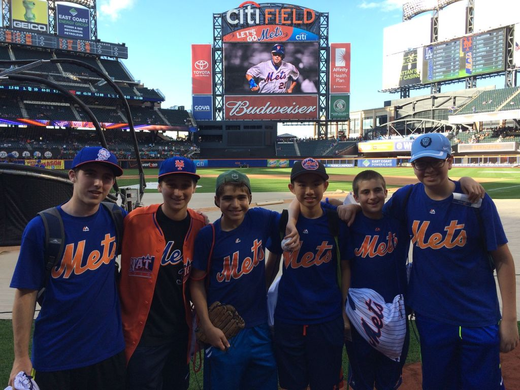 Our resident Mets fans on Citifield!