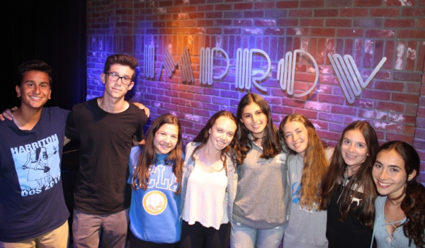 California Teen Tour Improv Comedy Club
