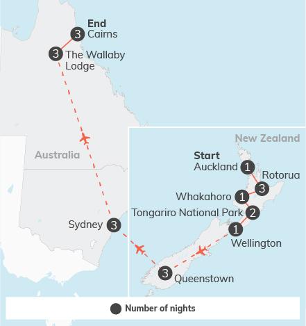 New Zealand & Australia Adventure - 23 days 10