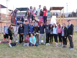 Peru Community Service at the Orphanage