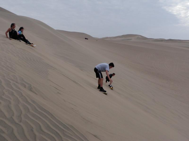 Peru Community Service Sand Boarding