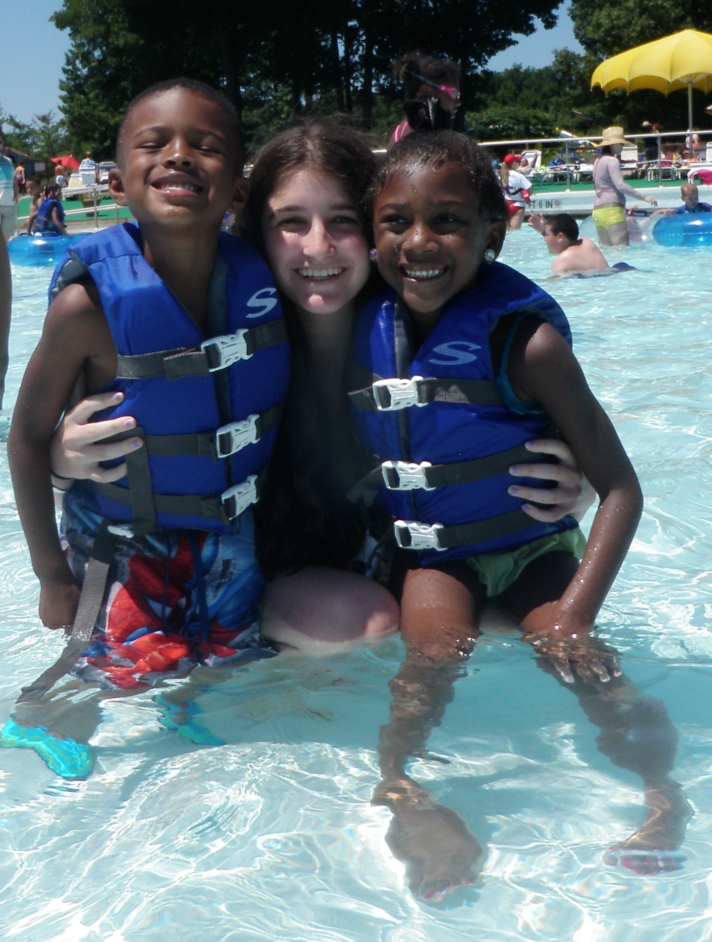 Water Park with Boys and Girls Club