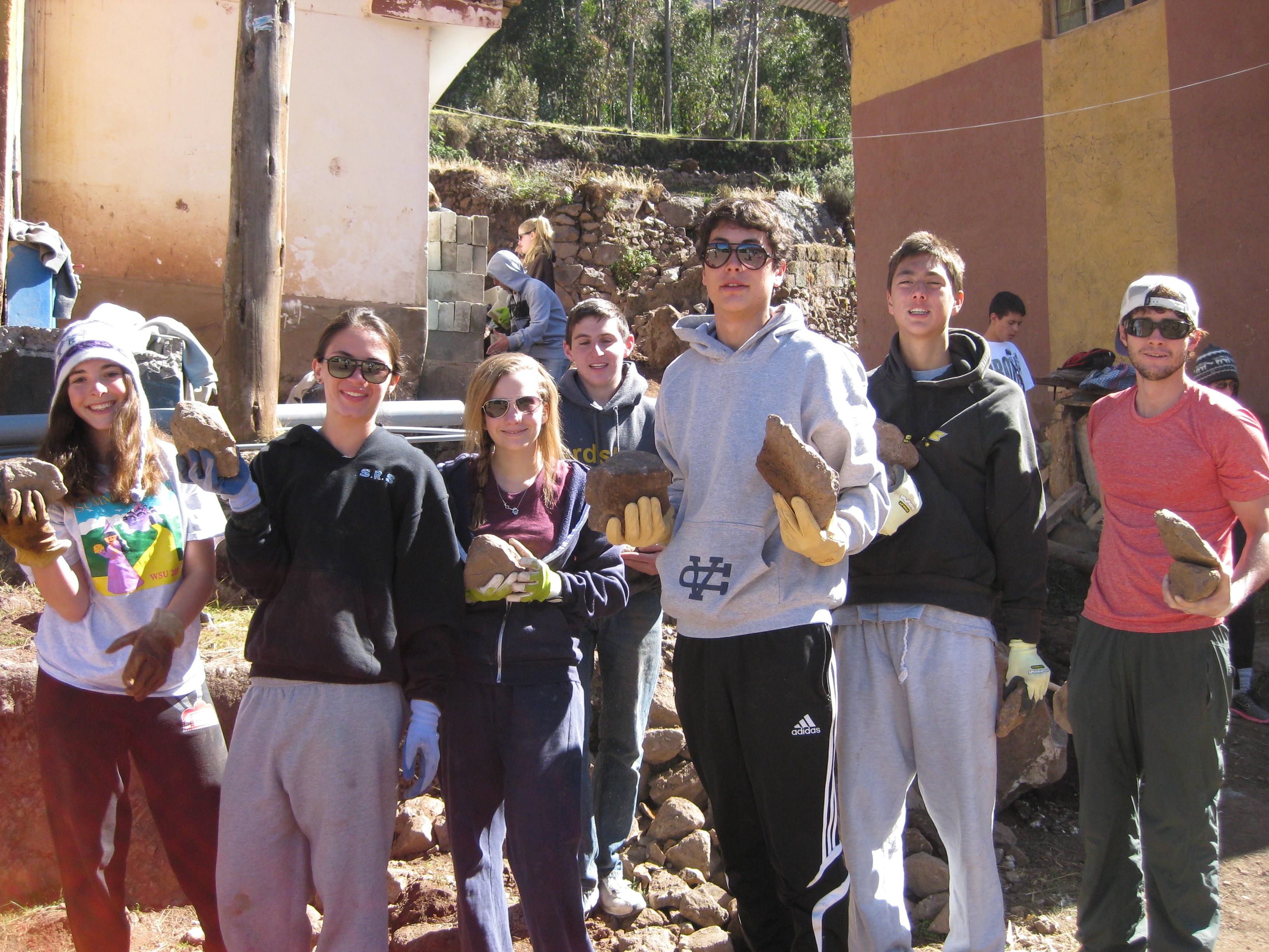 Group in Peru
