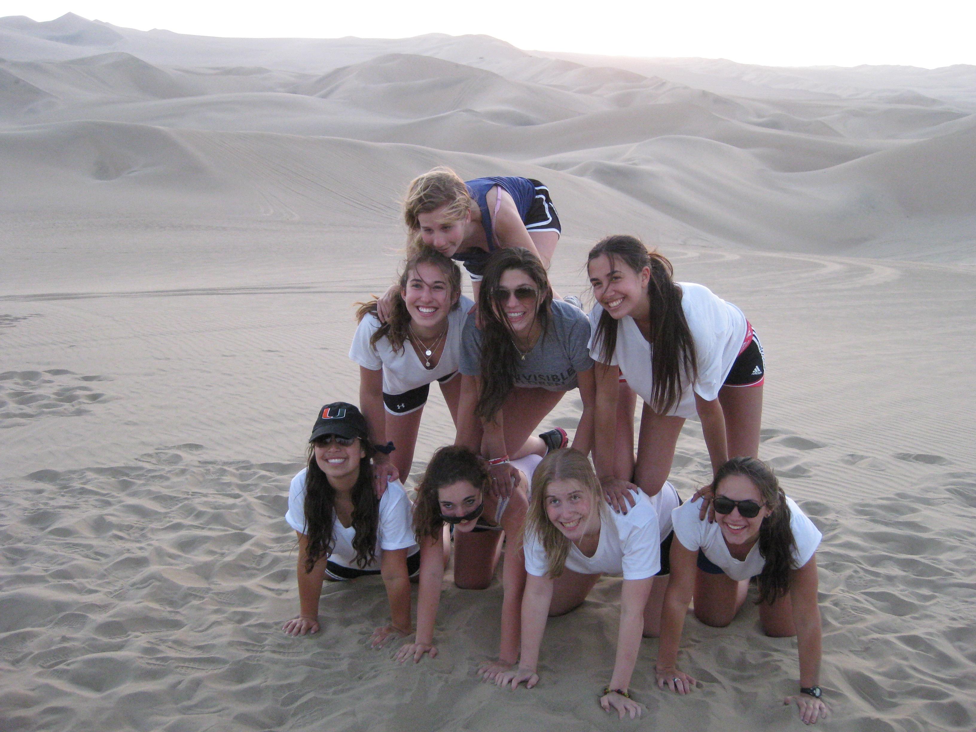Peru Community Service in Huacachina Sand Dunes