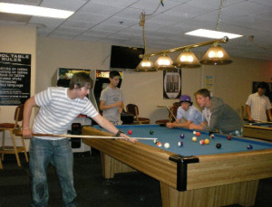 Chillin' 'Round the Pool Table