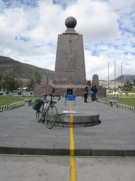 Ecuador Equator Line