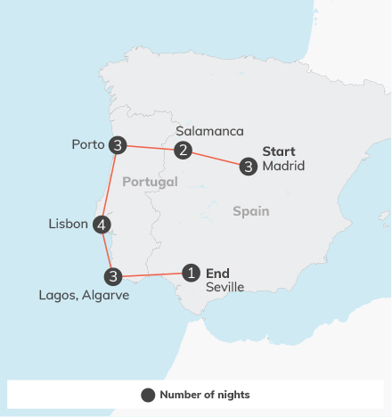 Spain & Portugal - 18 days 2