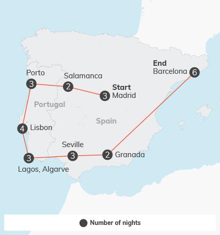 Spain & Portugal - 28 days
