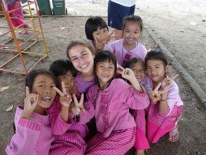 Thailand Community Service Helping Kids