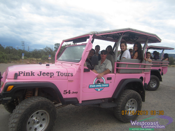 Ultimate California - Pink Jeep Tour