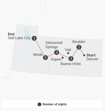 Colorado, Utah & Arizona Adventure