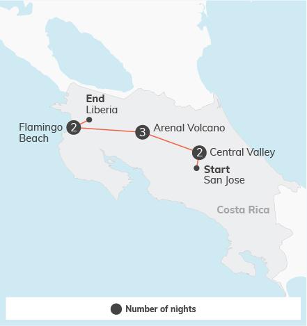 Costa Rica Adventure - 8 days