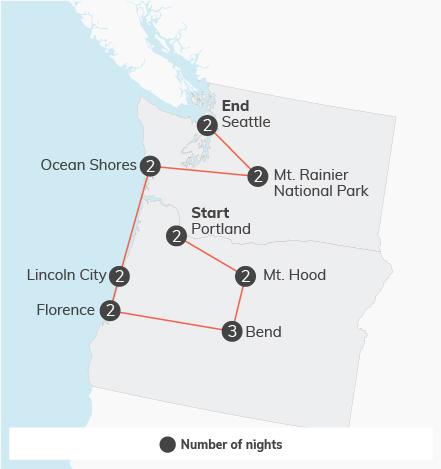 Pacific Northwest Adventure - 18 days 15