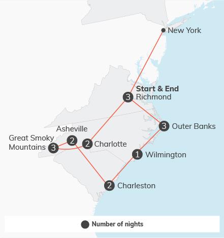 Carolina Adventure - 17 days 1