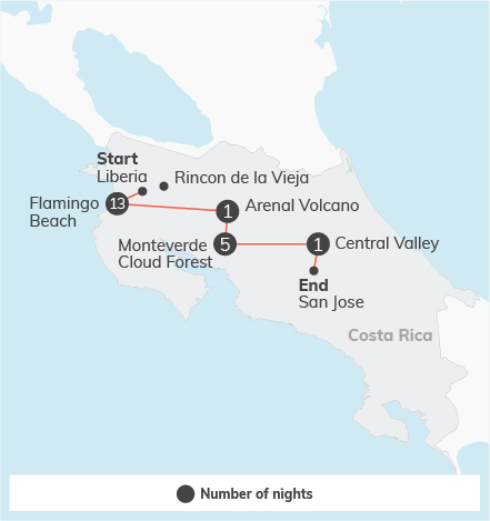 Costa Rica Gap - 21 days