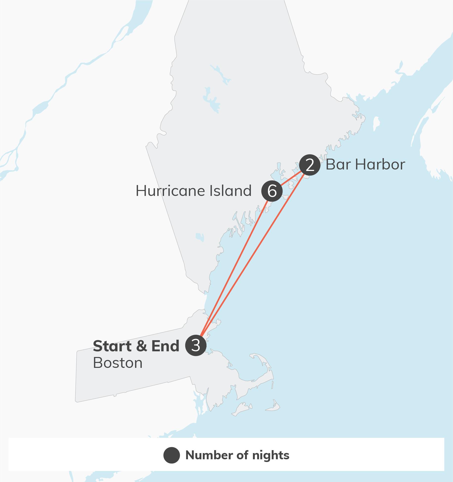 Maine: Sustainability & Island Exploration - 12 days